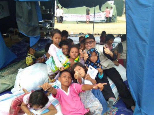 Donations to assist disaster victims; Lombok, Palu and Donggala - Indonesia